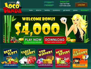 Loco Panda Casino Home