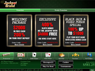grand jackpots casino no deposit bonus