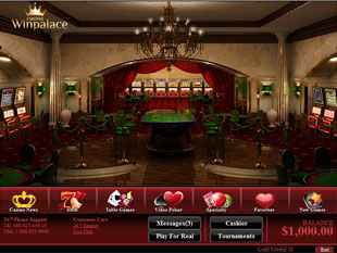 WinPalace Casino Lobby