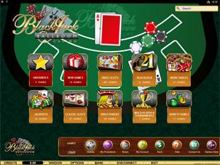 Blackjack Ballroom Casino Lobby