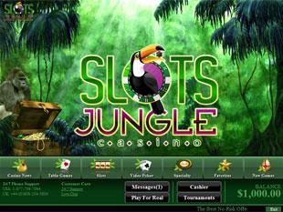 Slots Jungle Casino Lobby