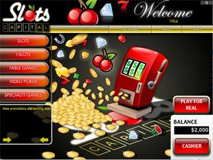 Slots Capital Casino Lobby
