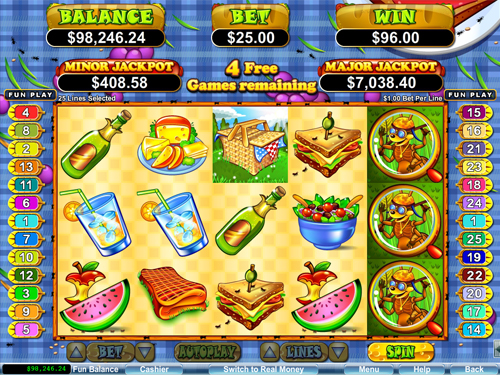 free Small Fortune free spins feature