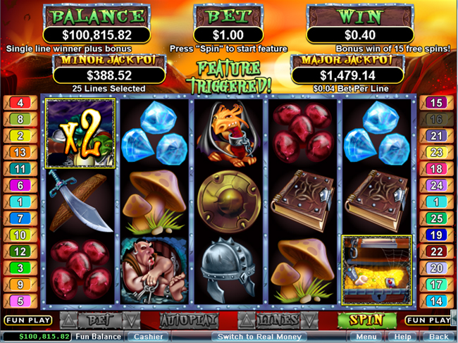 15-20 Line Slots | Up to $/£/€400 Bonus | Casino.com