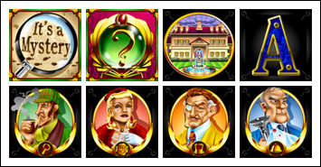 free It's a Mystery! slot game symbols