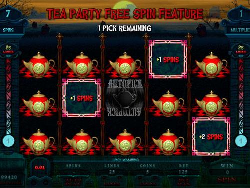 free Alaxe in Zombieland pick teapots