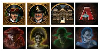 free Phantom Cash slot game symbols