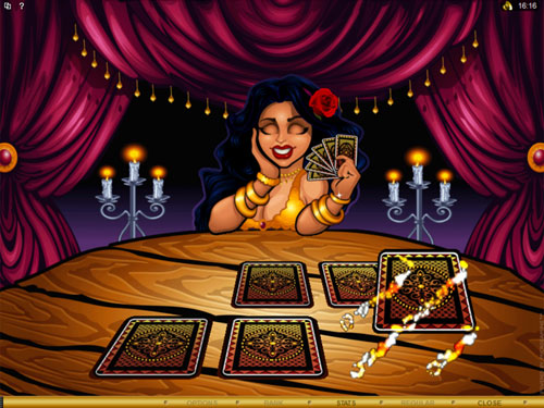 free Gypsy Queen bonus game additional pick