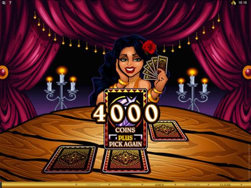 free Gypsy Queen bonus feature award