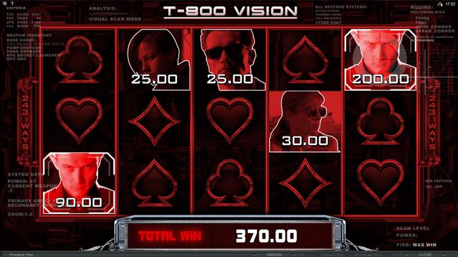 free Terminator 2 slot T-800 Vision