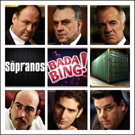 free The Sopranos slot game symbols