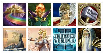 free Thunderstruck 2 slot game symbols