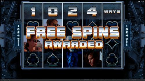 free Terminator 2 free games prize
