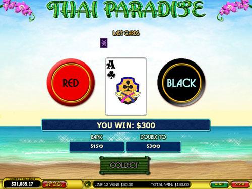 free Thai Paradise gamble feature