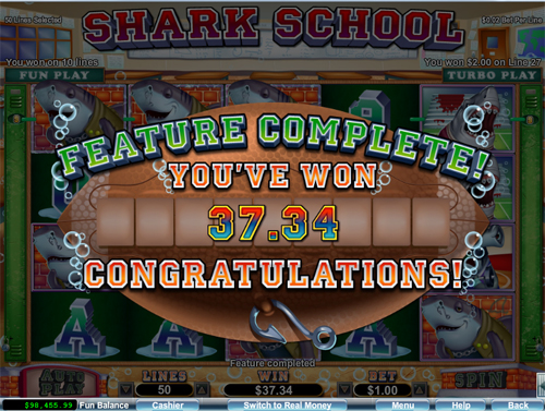 free Shark School free games feature