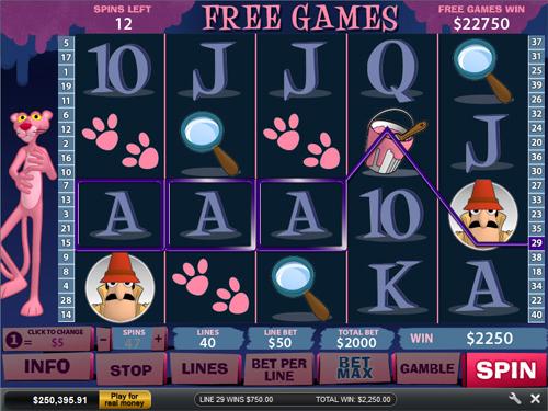 free Pink Panther free games