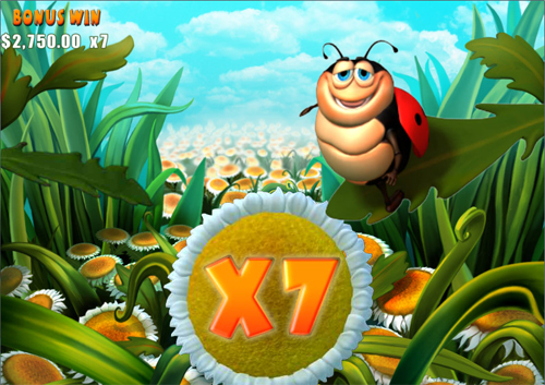 free Happy Bugs bonus game
