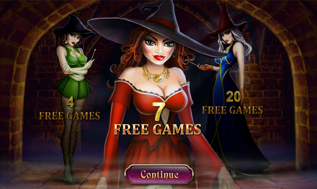 free Halloween Fortune slot bonus feature