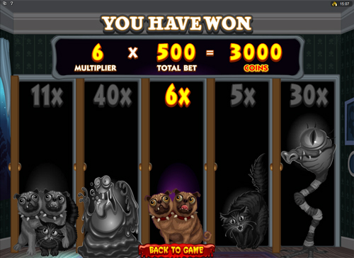 Free Monsters In The Closet Bonus Game Prize