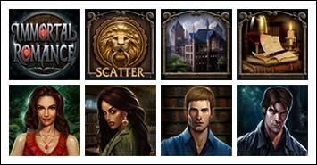 free Immortal Romance slot game symbols