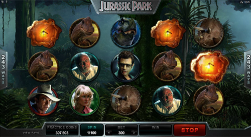 free Jurassic Park free spins feature