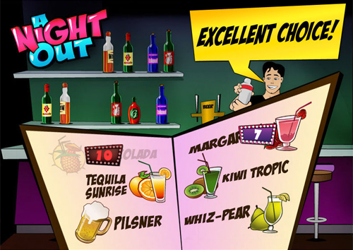 free A Night Out bonus game prize