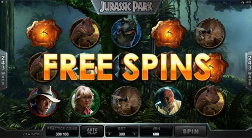 free Jurassic Park  free spins