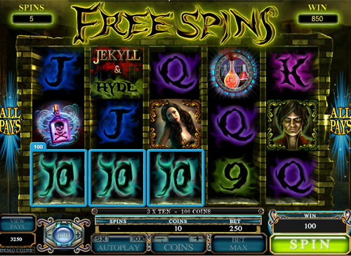 free Jekyll and Hyde free games