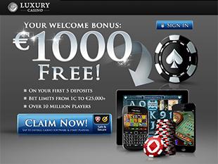 Luxury Mobile Casino Home