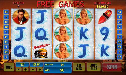 free Baywatch free games