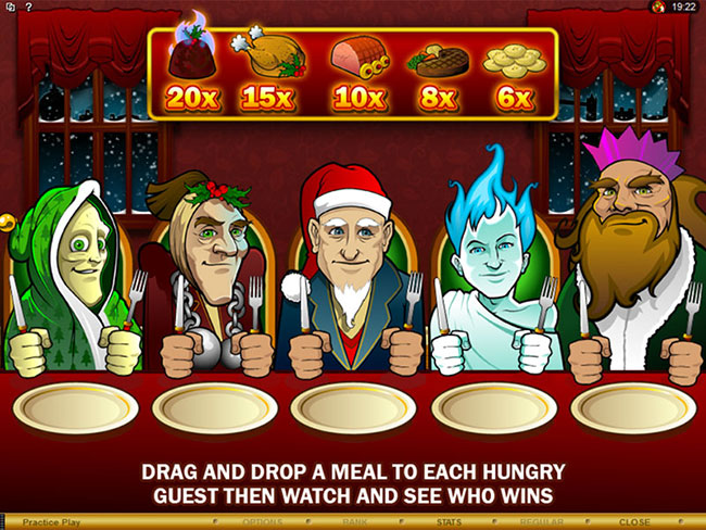 free Scrooge slot bonus feature
