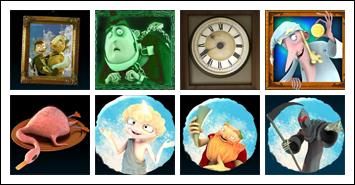 free Ghosts of Christmas slot game symbols