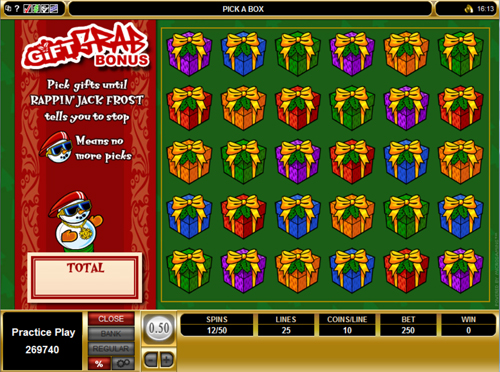 free Gift Rap free spins feature