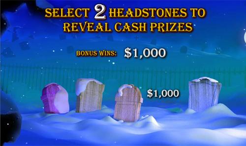 free Ghosts of Christmas bonus game