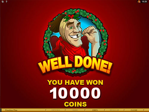 free Scrooge bonus feature total prize