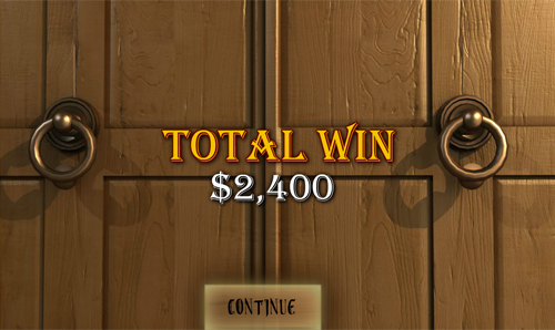 free Ghosts of Christmas bonus game win