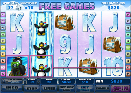 free Penguin Vacation 8 free games