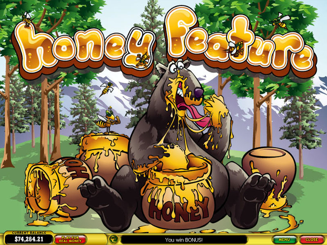 free slot machine bonus bear