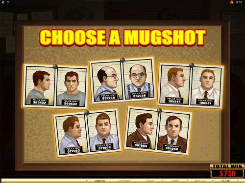 free Private Eye mugshot bonus feature