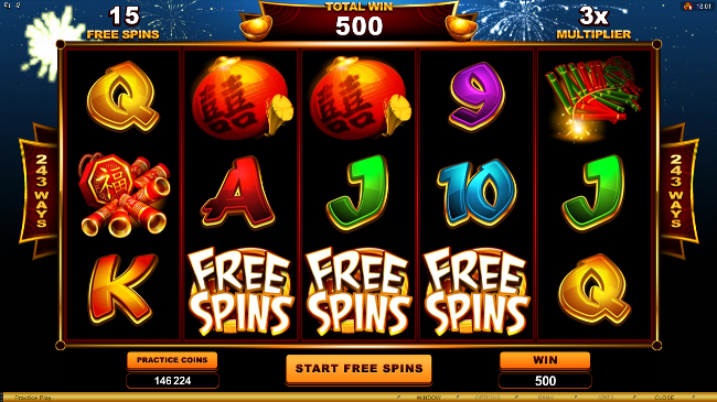 free Gung Pow slot bonus feature