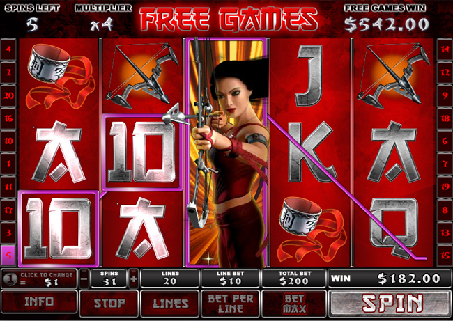 free Elektra slot bonus feature