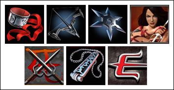 free Elektra slot game symbols