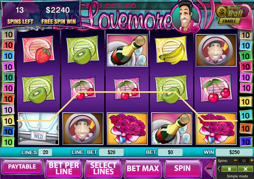 free Dr Lovemore free spins