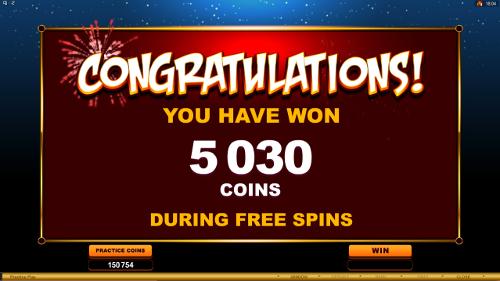 free Gung Pow free games total prize