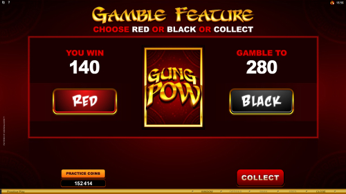 free Gung Pow gamble feature
