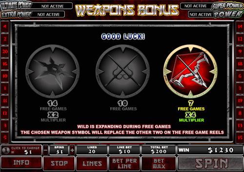 free Elektra free game win
