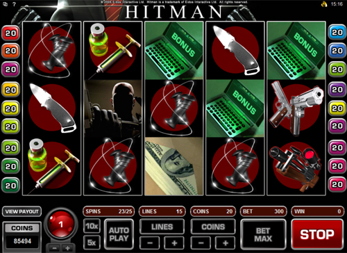 free Hitman bonus game feature