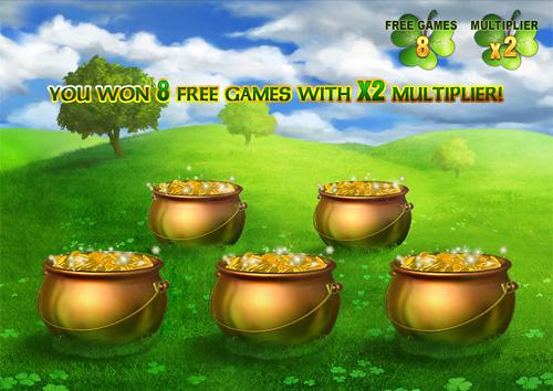 free Irish Luck bonus game
