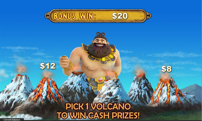 free Jackpot Giant slot bonus feature