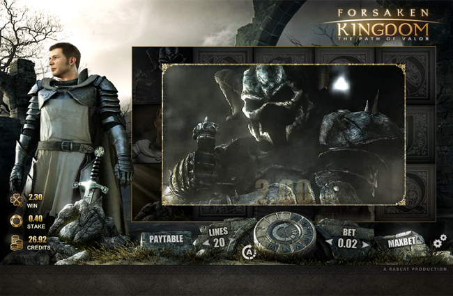 free Forsaken Kingdom slot bonus feature